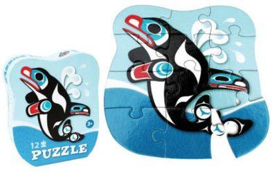 12 pc Orca Puzzle